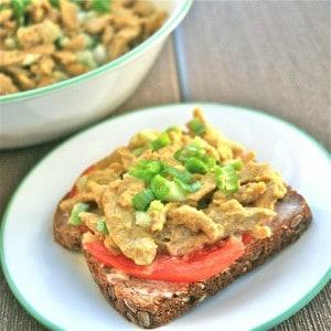 Vegan Curried Chik'n Salad Spread