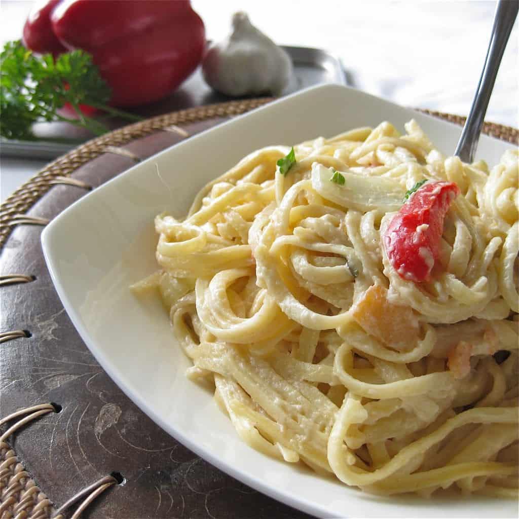 recipe: vegetarian linguine recipes [10]