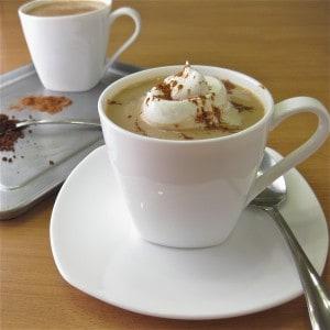 Vegan Caffeine-Free Pumpkin Spice Lattes