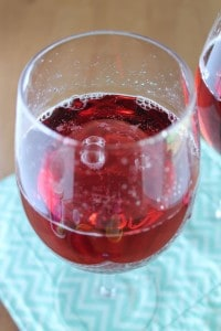 Sparkling White Grape Raspberry Juice