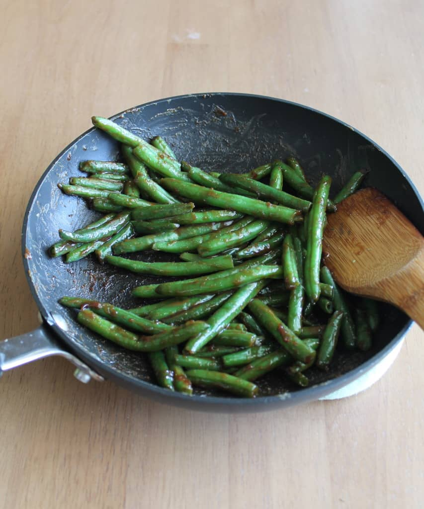 Asian Style Green Beans + Exciting News