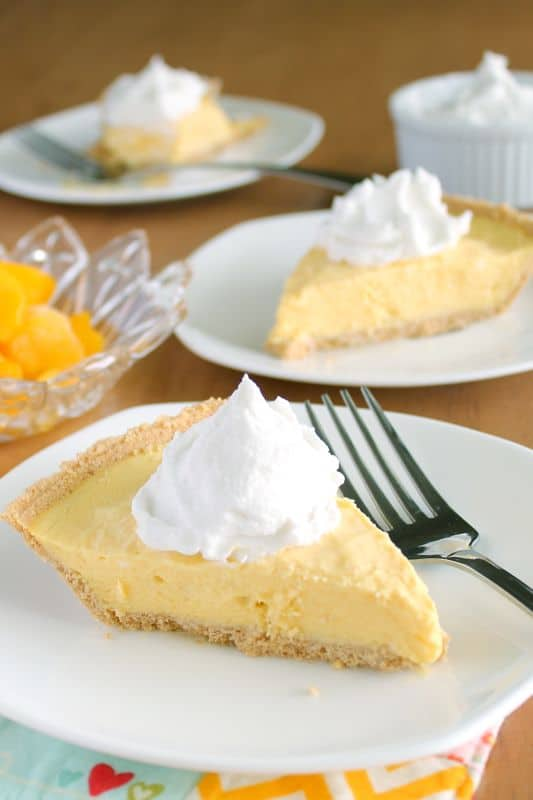 Mango Cream Pie 1