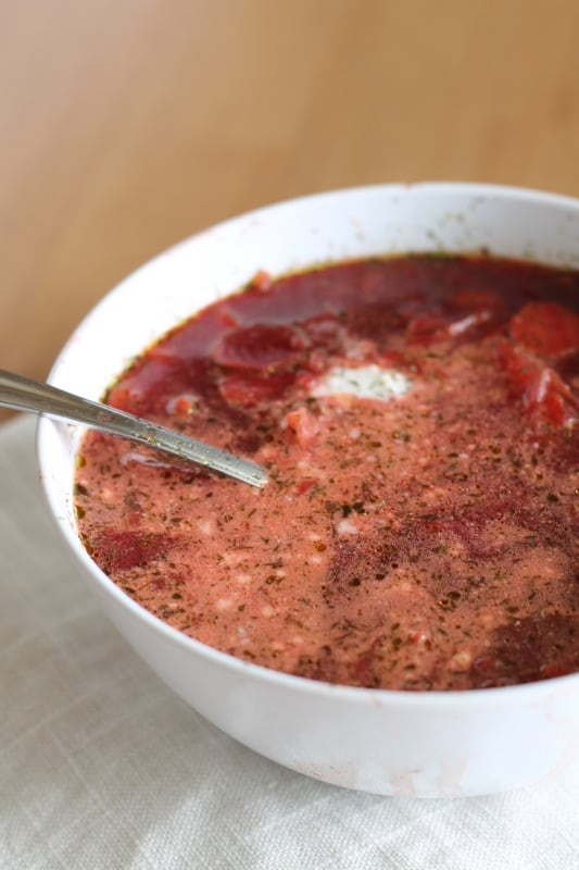 Borscht Soup