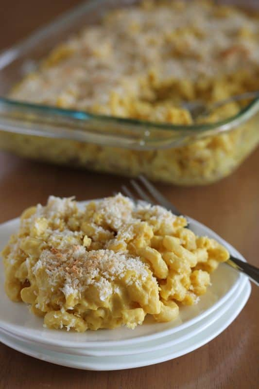 "Cauliflower Macaroni and ""Cheese"""