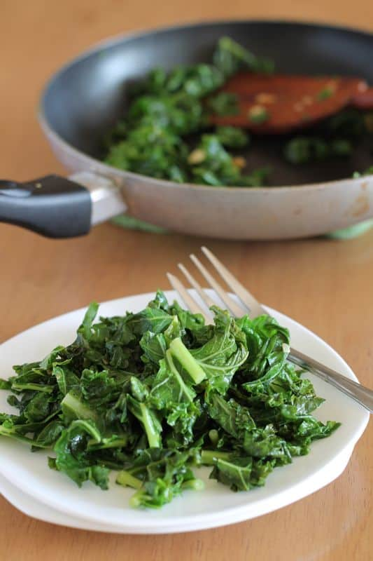 Garlic Cooked Kale