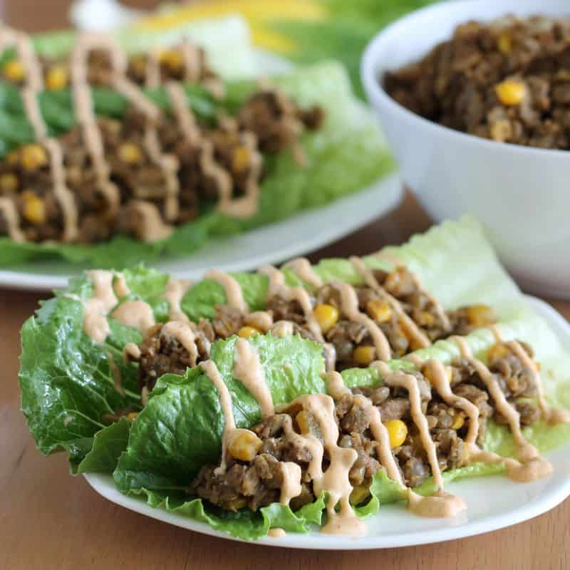 That was a weird example, but you get the idea. Lentils and lettuce ...