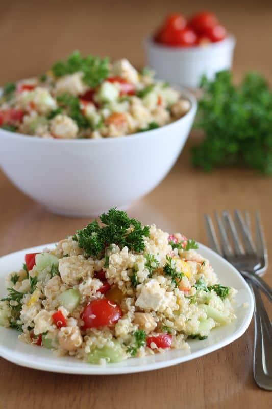 Quinoa Tabbouleh 1