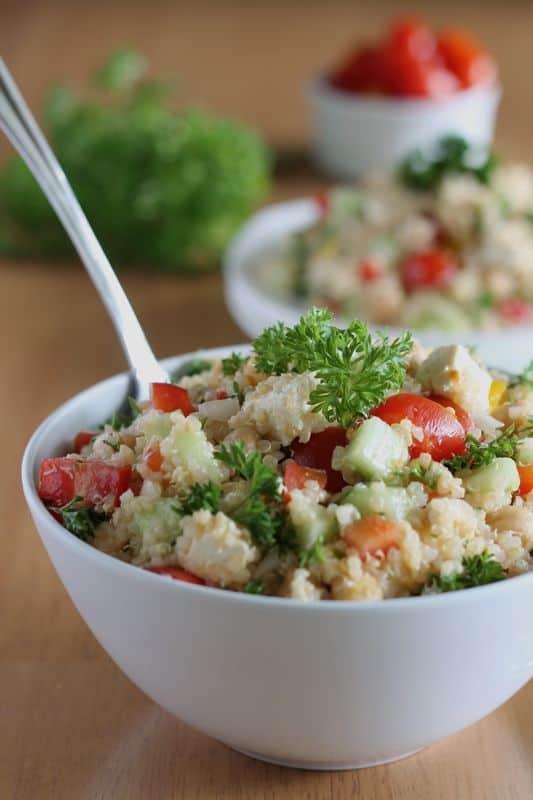 Quinoa Tabbouleh 3