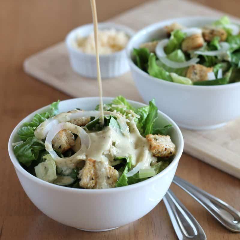 Caesar Salad Vegan 2