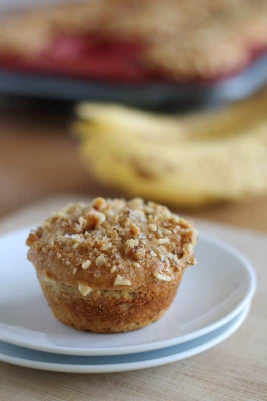Banana Walnut Muffins Revisited