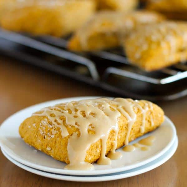 Pumpkin Spice Scones 6 Square