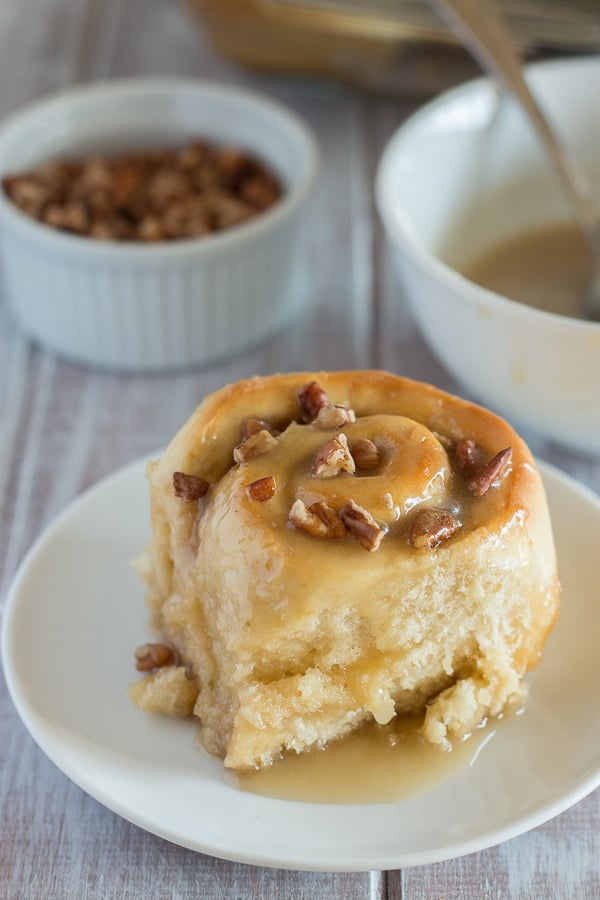 Maple Pecan Sticky Buns 5