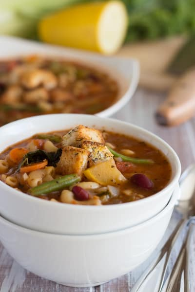 Easy One-Pot Minestrone Soup