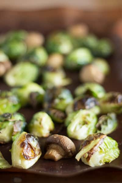 Sweet Sesame Roasted Brussel Sprouts 4