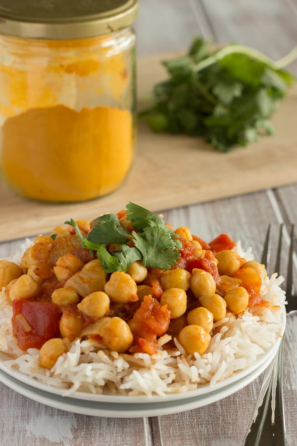 Quick and Easy Chana Masala 1