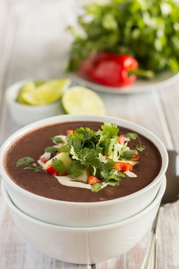Tangy Black Bean Soup 1