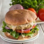 Vegan Broccoli Burgers_