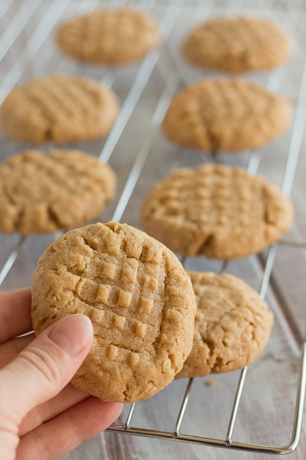 Vegan Peanut Butter Cookies 2