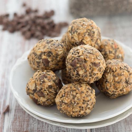 Carob Peanut Butter Energy Bites