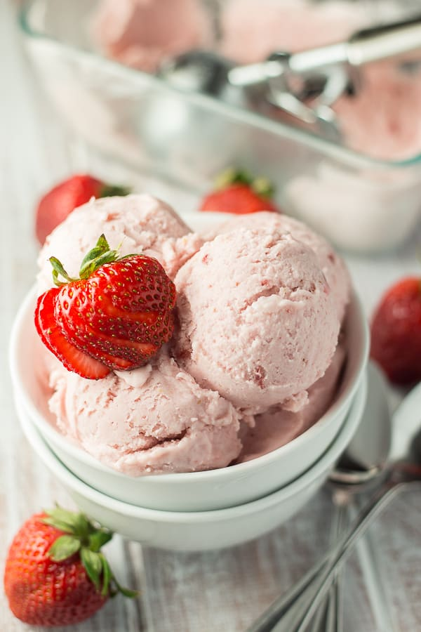 Vegan Strawberry Coconut Ice Cream Vegan Yumminess