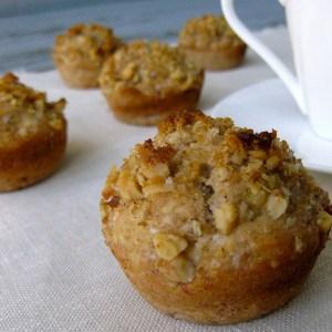 Banana Walnut Muffins (Vegan)