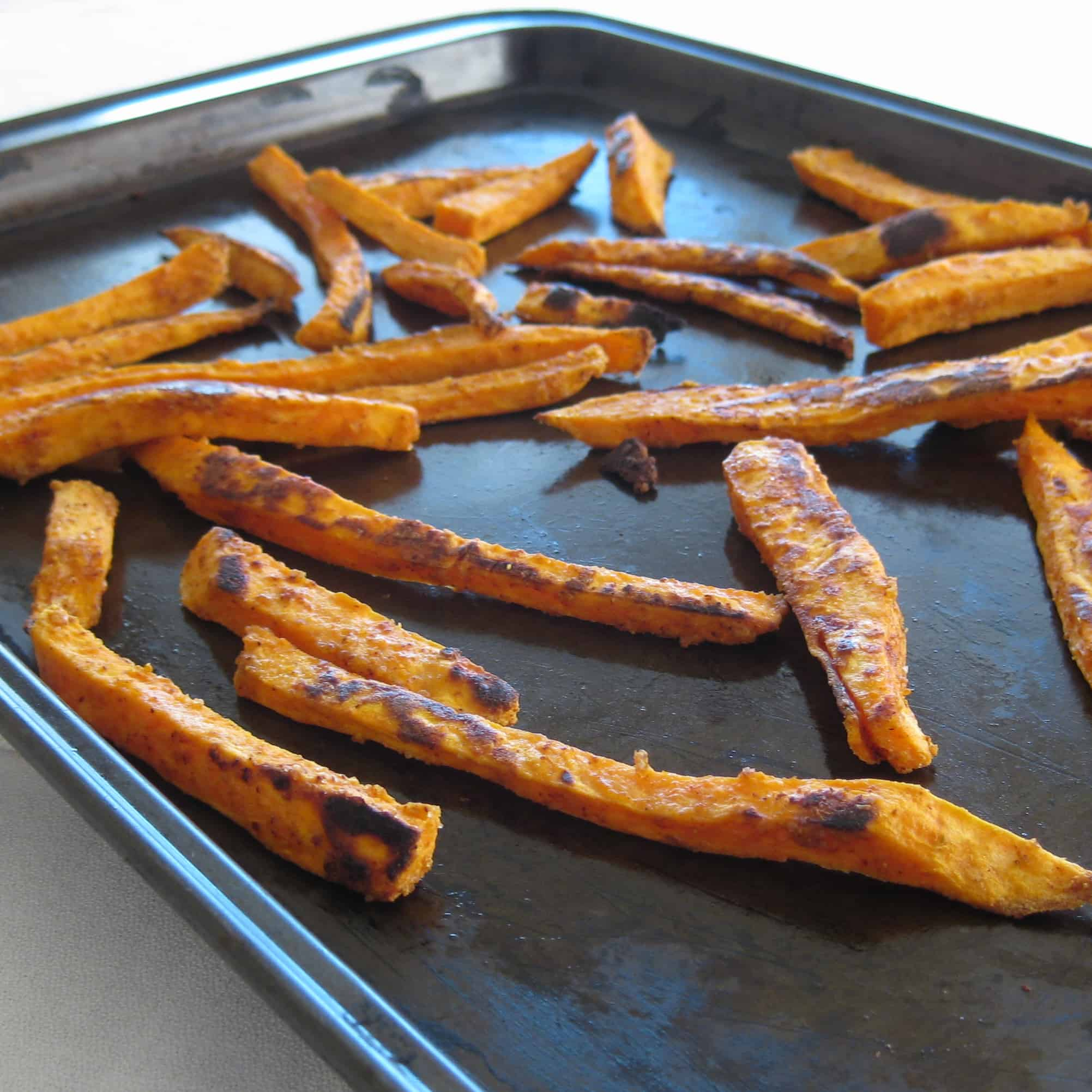 Spicy Sweet Potato Fries Vegan Yumminess