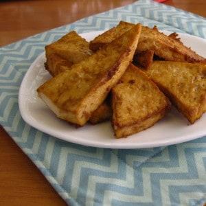Baked Tofu Bites