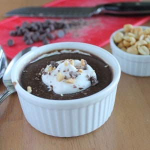 Carob Peanut Butter Pudding