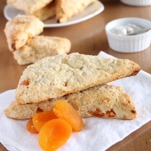 Vegan Apricot Scones