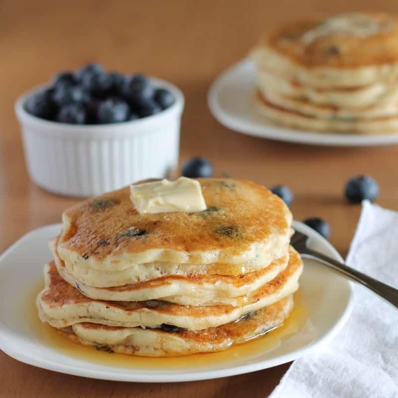 Pancake recipe without baking powder sante blog blueberry pancakes ccuart Gallery