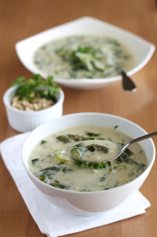 Cream of Asparagus Spoon