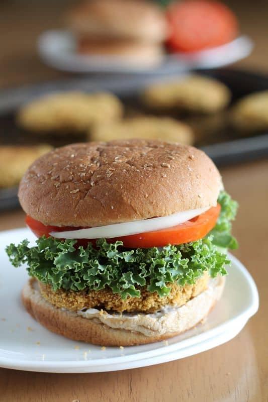 Chickpea Burgers 1