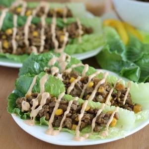 Lentil Lettuce Tacos