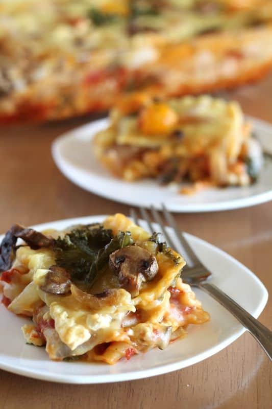 Roasted Veggie Lasagna 6