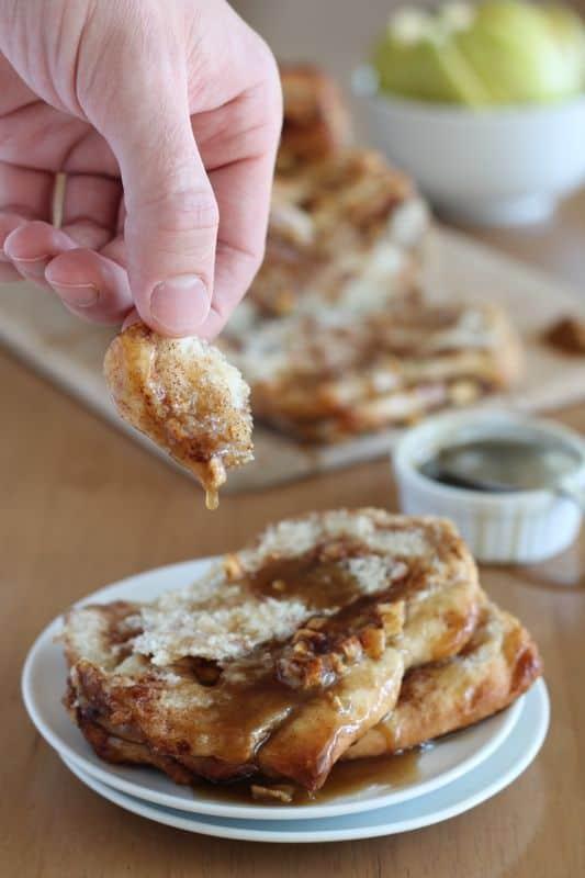 Caramel Apple Pull-Apart Bread 2