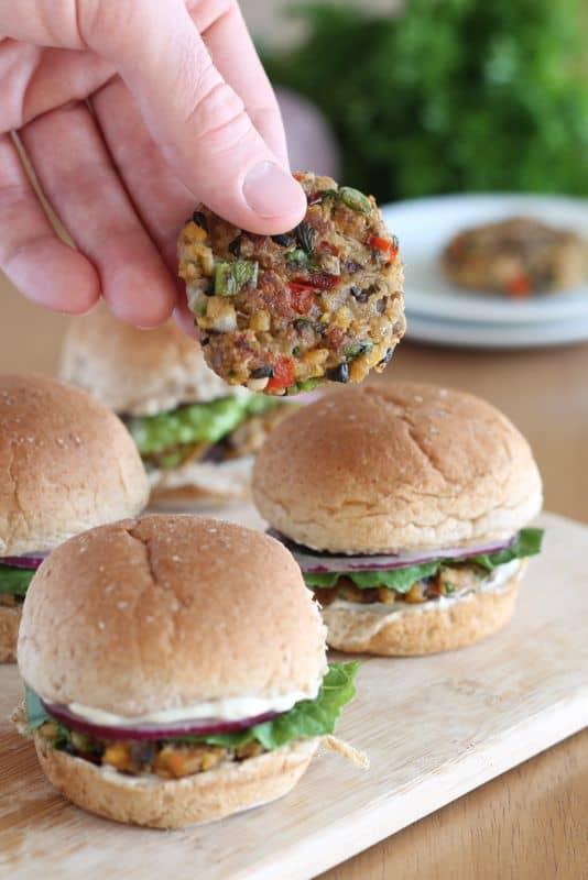 Veggie Burgers 1