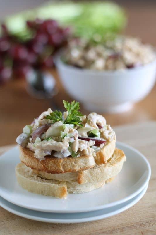 Vegan Chicken Salad 1