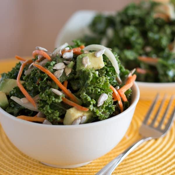 5 Step Kale Salad Square