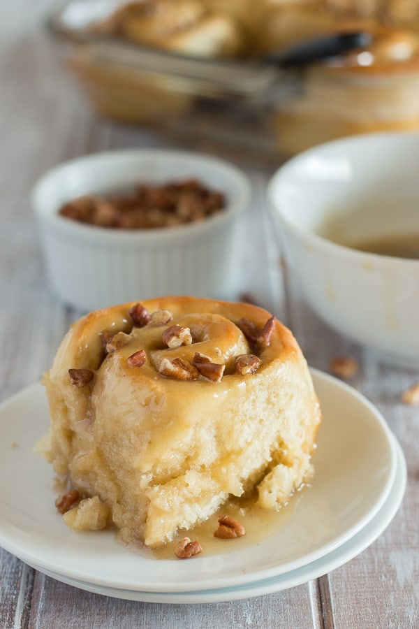 Maple Pecan Sticky Buns 6