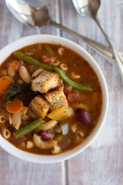 Minestrone Soup 2
