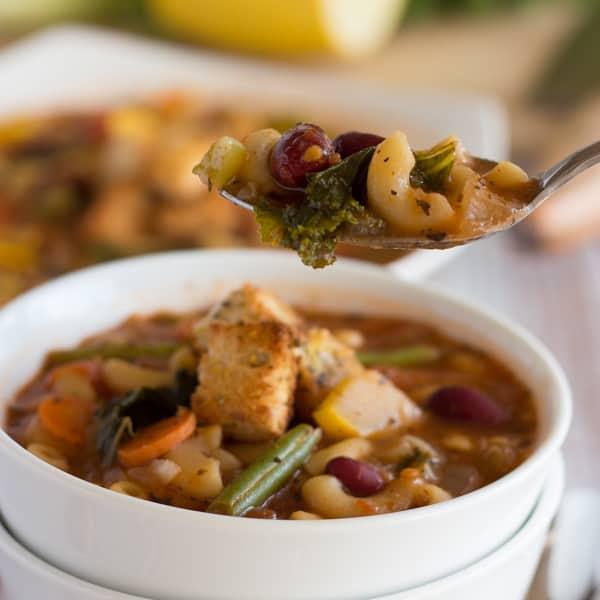 Minestrone Soup Square 1