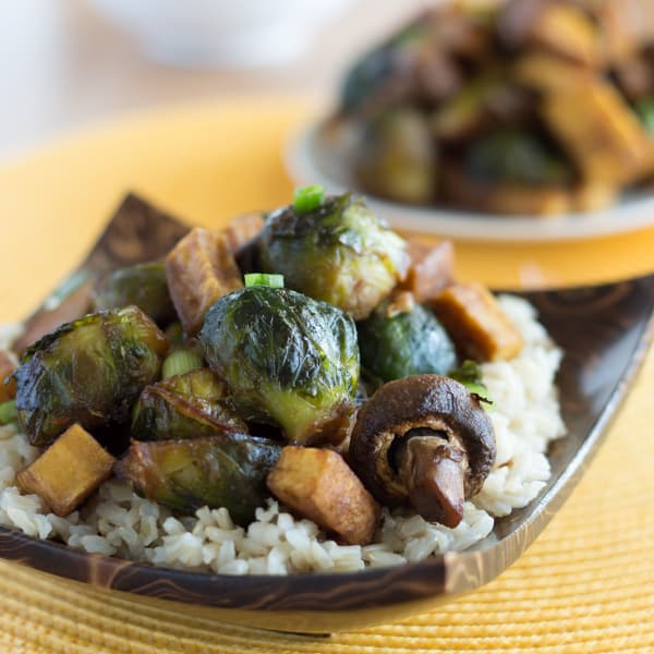 Sweet Sesame Roasted Brussels Sprouts Square2