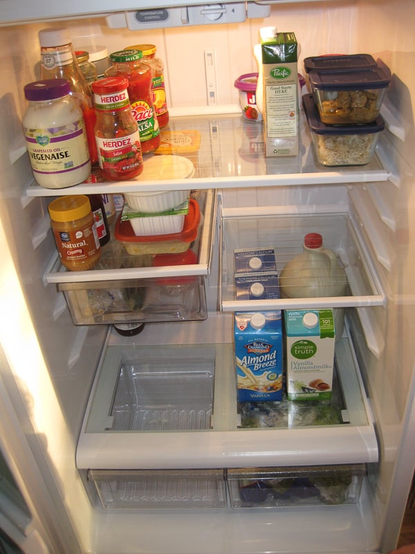 Clean Fridge After