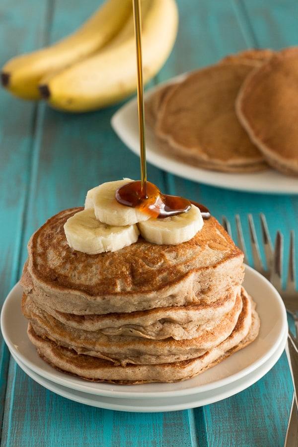Fluffy Banana Pancakes 1