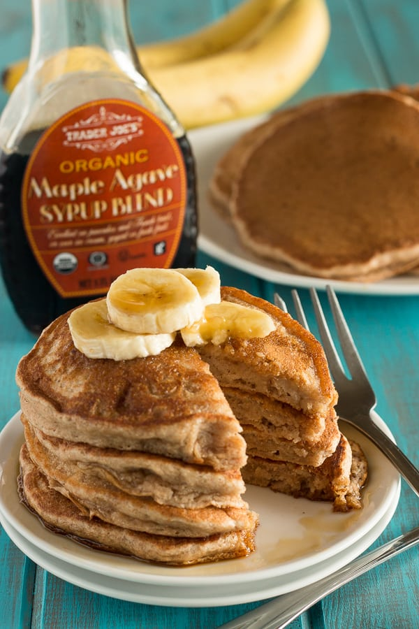 Fluffy Banana Pancakes 4