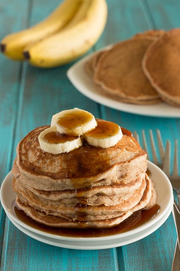Fluffy Banana Pancakes 5