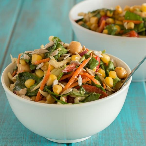Kale Corn Salad