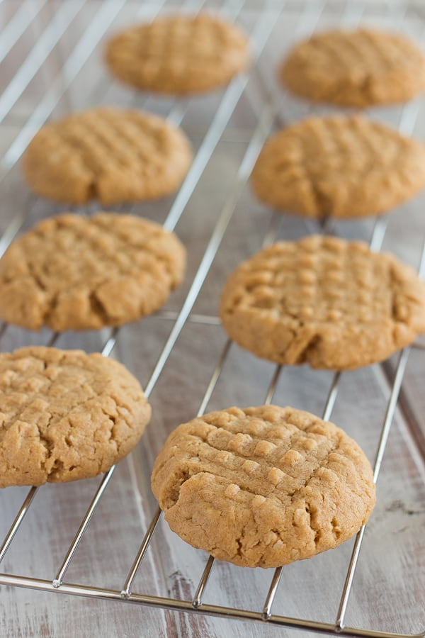 Vegan Peanut Butter Cookies 1