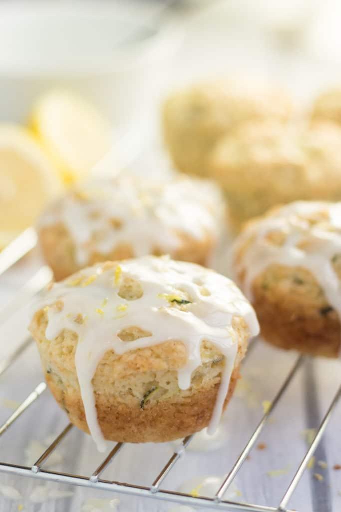 Vegan Lemon Zucchini Muffins Vegan Yumminess